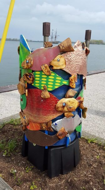 Fish Barrel Art on the Bay